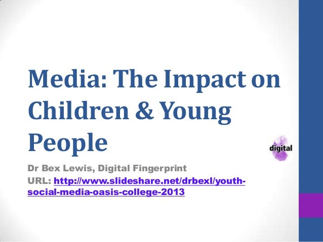 Youth & Social Media, Oasis College 2013