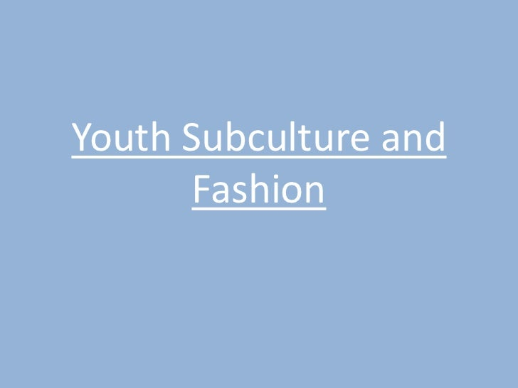 essays on subcultures