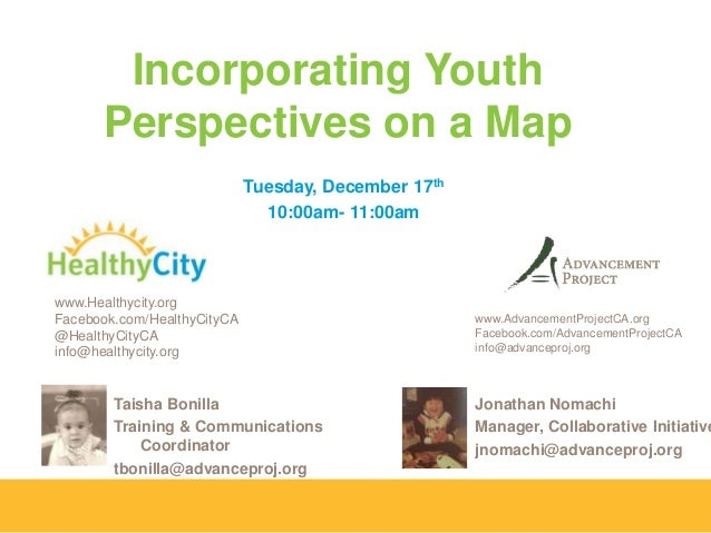 Youth Voices on a Map