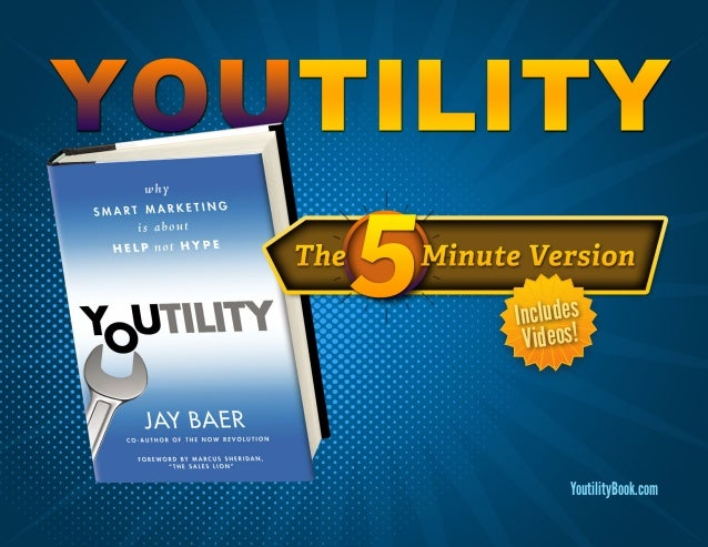 YoutilityBook.comIncludesVideos!