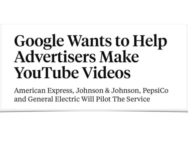 J&J Signs Global Partnership with YouTube