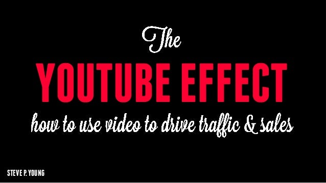The Youtube Effect - How to Use Video to Drive Traffic & Sales