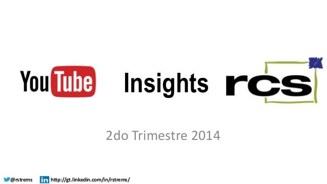 Insights  2do Trimestre 2014  @rstrems http://gt.linkedin.com/in/rstrems/