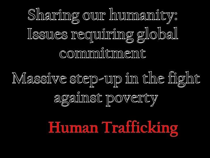 St. Timothy's Challenge 20/20 Human Trafficking Presentation