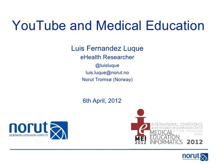 YouTube and Medical Education