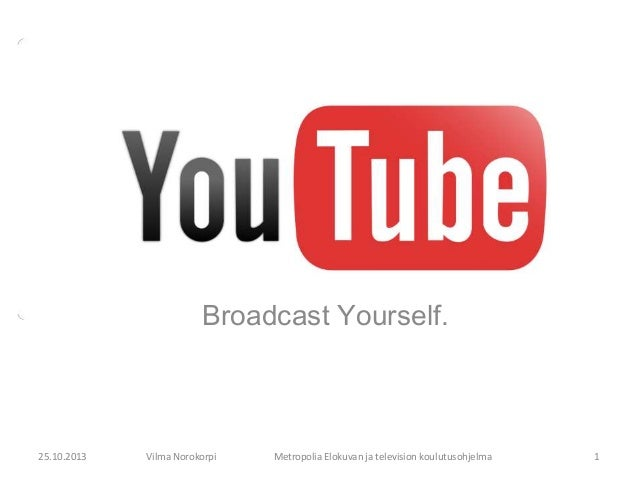 Youtube PowerPoint Presentation