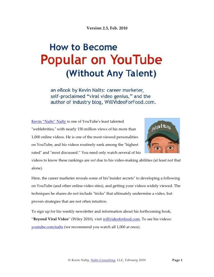 You Tube Popular V2 3