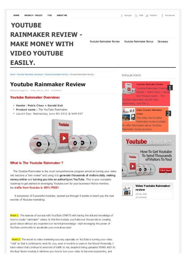 Youtuberainmakers blogspot-com