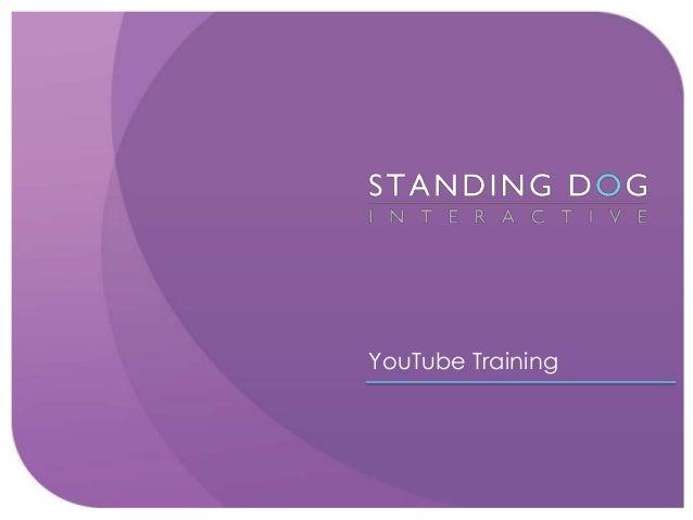 YouTube Training 2013