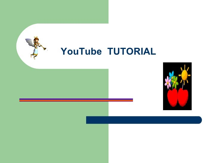 YouTube  TUTORIAL
