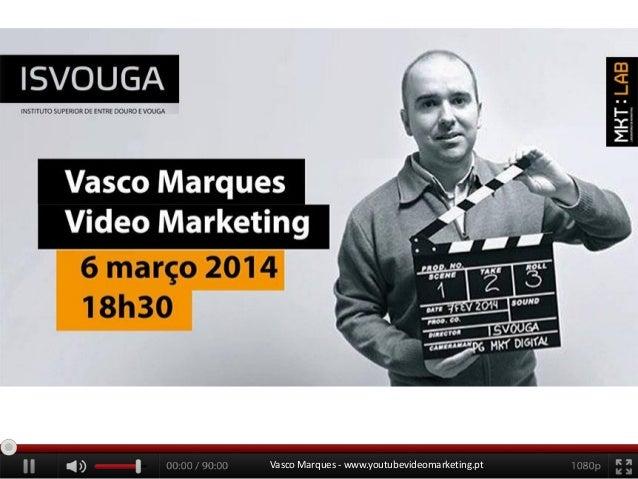Youtube video marketing aula aberta inovação isvouga