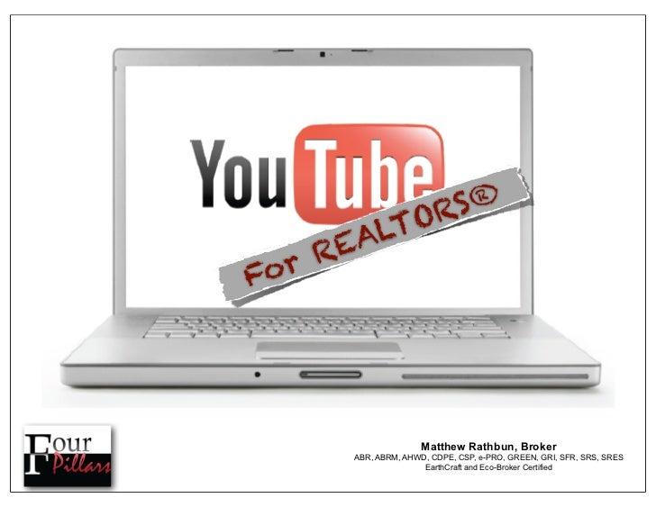 Let's Go YouTub'in for Realtors