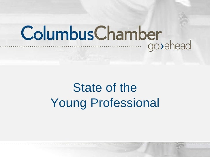 State of the Young Professional