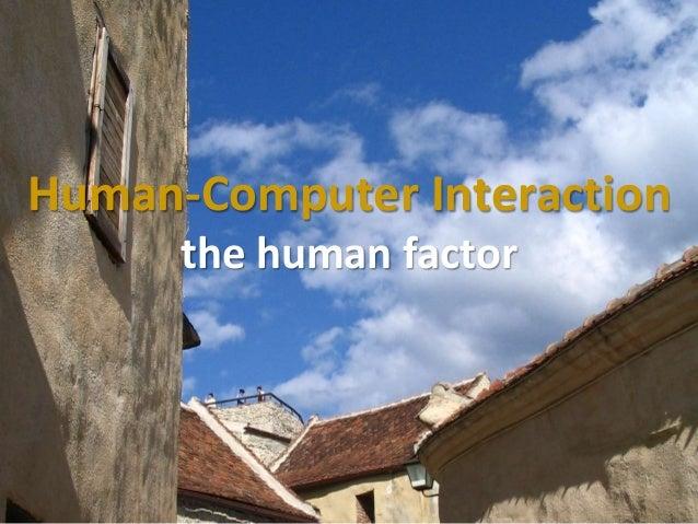 Master on Software Engineering :: Human-Computer Interaction Dr. Sabin-Corneliu Buraga – www.purl.org/net/busaco Human-Com...