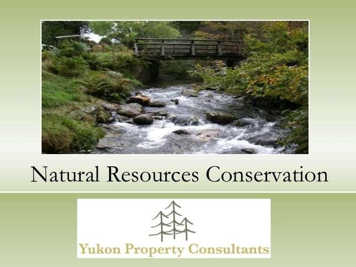 Natural Resources Conservation <br />Yukon Property Consultants, LLC<br />