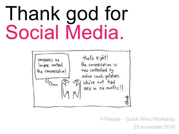 Quick-Wins Social Media