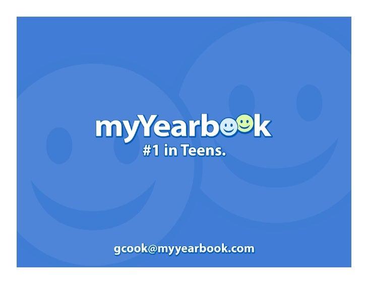 myYearbook/Ketchum Teen Study