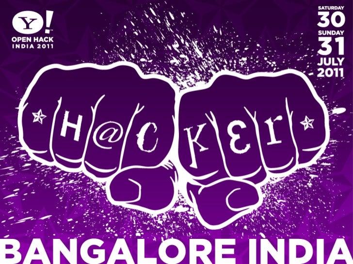 YQL & Yahoo! APIs - Open Hack India 2011