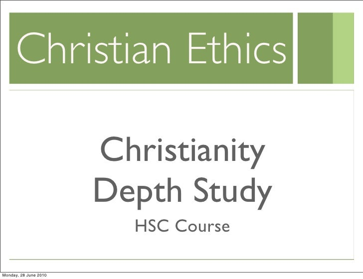 christian ethics project 1 The field of christian ethics is the subject of frequent conversation as christians seek to understand how to live faithfully within a pluralistic society the range of ethical systems and moral philosophies available can be confusing to people seeking clarity about what the different theories mean for everyday life.