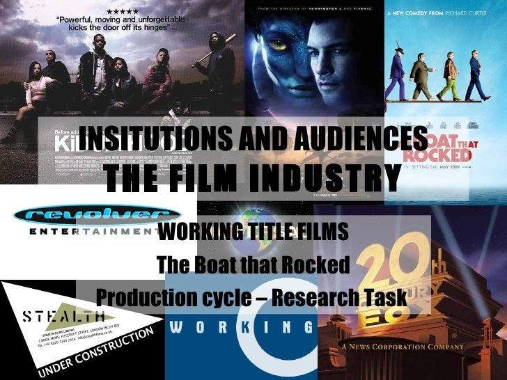 INSITUTIONS AND AUDIENCES THE FILM INDUSTRY WORKING TITLE FILMS The Boat that Rocked Production cycle – Research Task