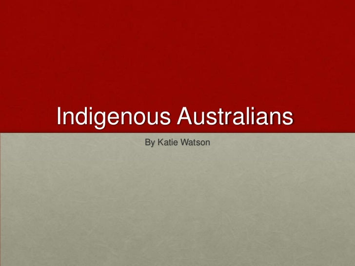 Yr 2 sose   week 5 indigenous presentation