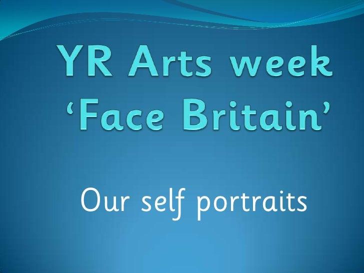 YR arts week