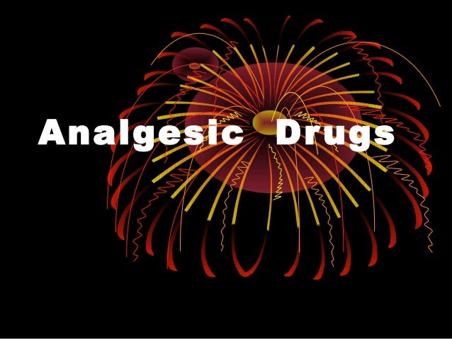 Analgesic Drugs