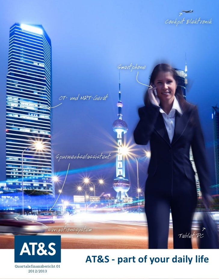 AT&S Quartalsbericht 1 2012/2013
