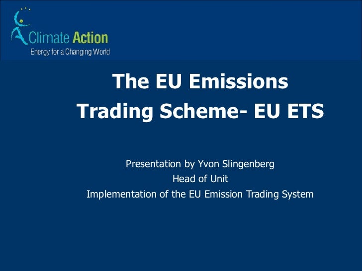 Eu emissions trading system directive
