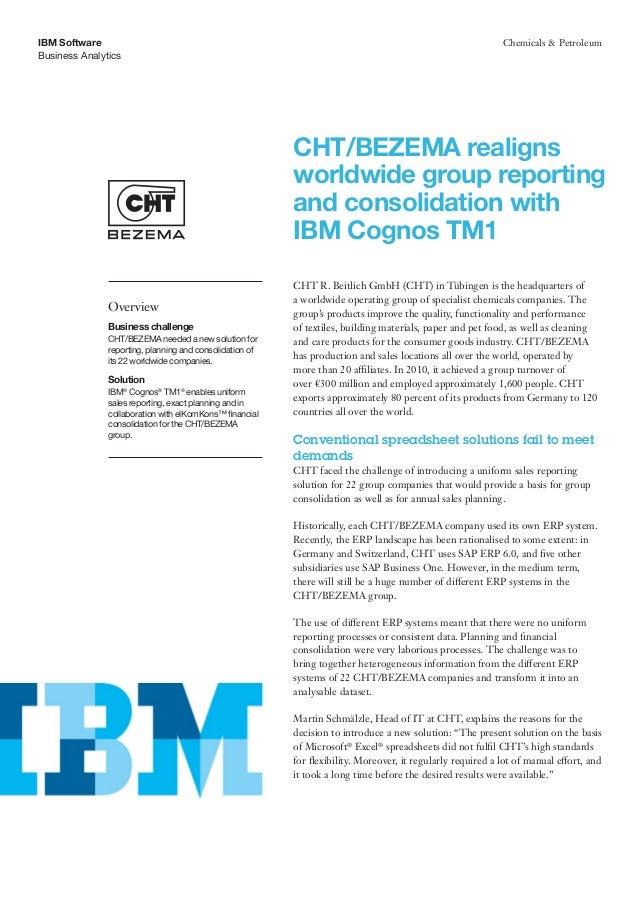 IBM Software                                                                                                 Chemicals & P...