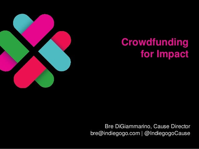 Crowdfunding for Impact