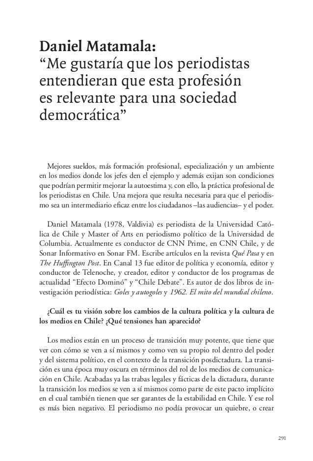 """291 Daniel Matamala: """"Me gustaría que los periodistas entendieran que esta profesión es relevante para una sociedad democr..."""