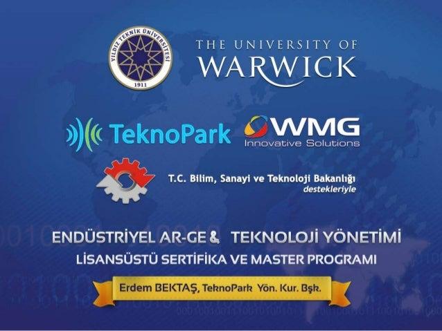 Ensüstriyel AR-GE ve Teknoloji Yönetimi