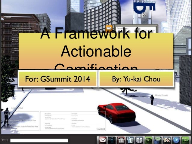 A Framework for Actionable Gamification