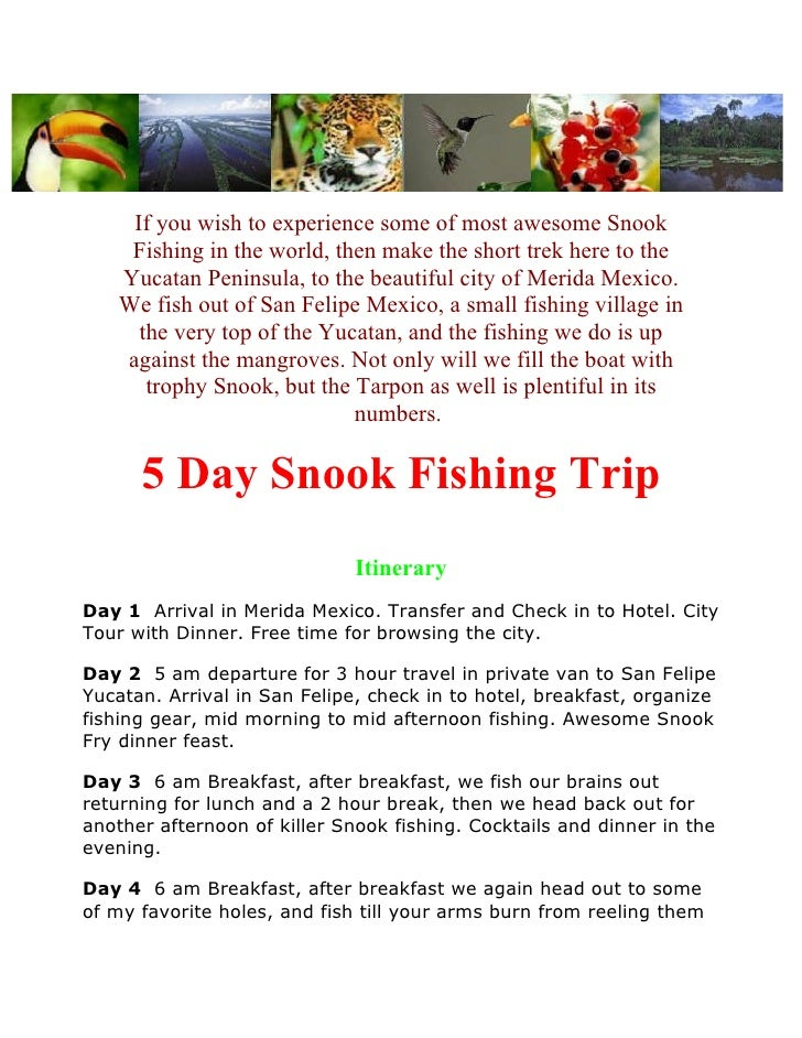 If you wish to experience some of most awesome Snook     Fishing in the world, then make the short trek here to the    Yuc...