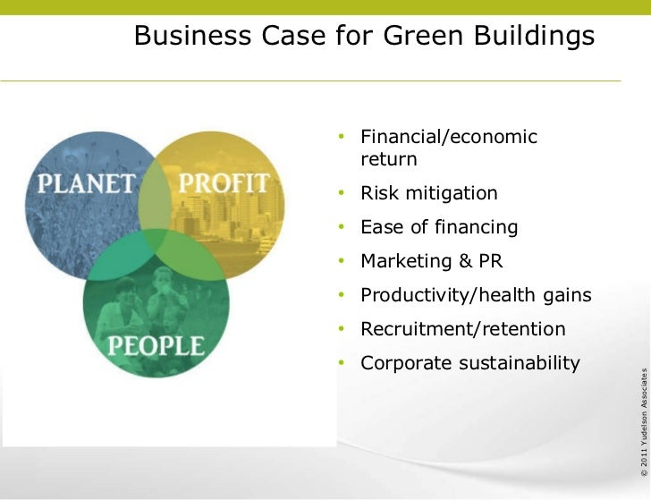 Case For Green Buildings