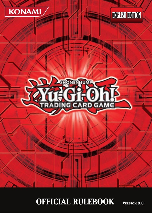 Yu-gi-oh Official Rulebook