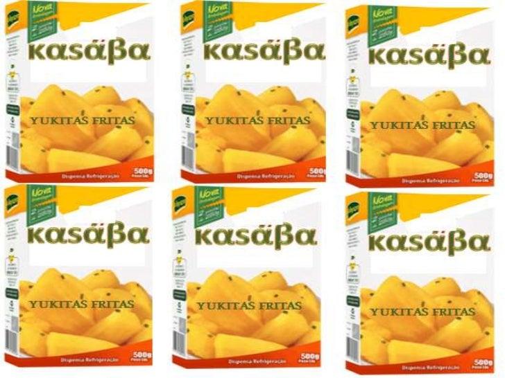 Yuquitas καsάβα, deseaposicionarse en el 2013,como uno de los alimentosmás deliciosos y nutritivos ensnack y en productosp...
