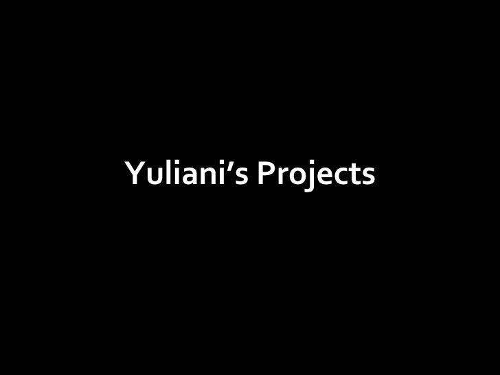 Yuliani Works