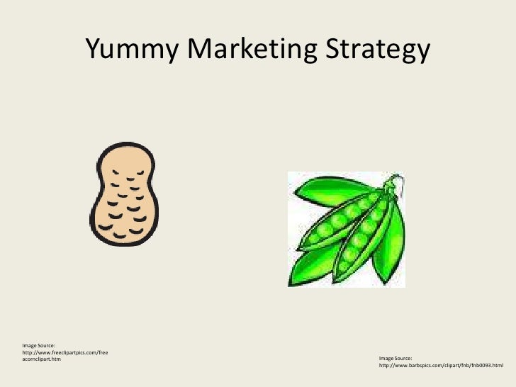 Yummy Marketing Strategy     Image Source: http://www.freeclipartpics.com/free                                            ...