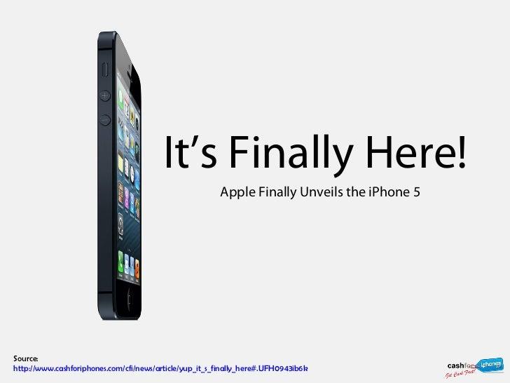 Yup, It's Finally Here!