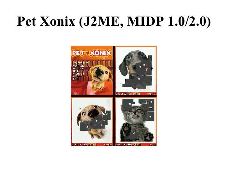 J2ME/BD-J/OCAP Game Portfolio