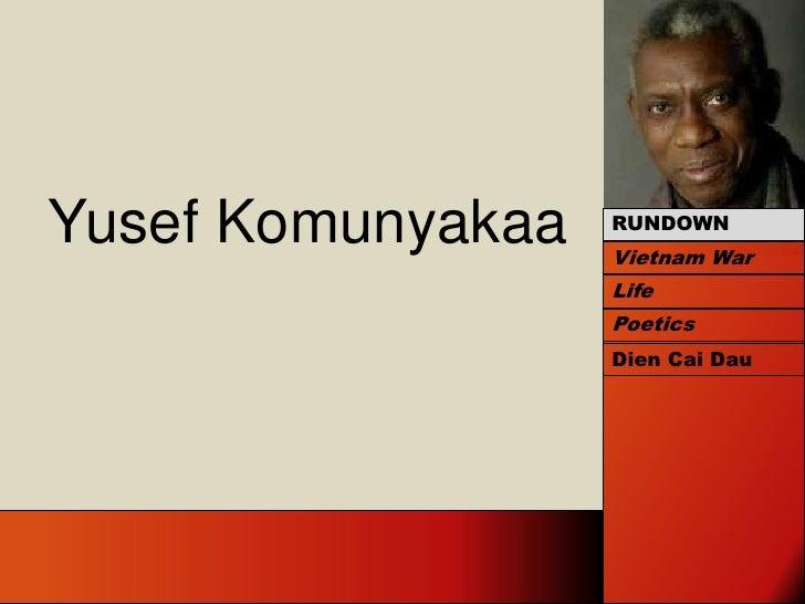 Yusef Komyunyakaa