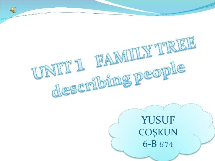 6th unıt1 describing people