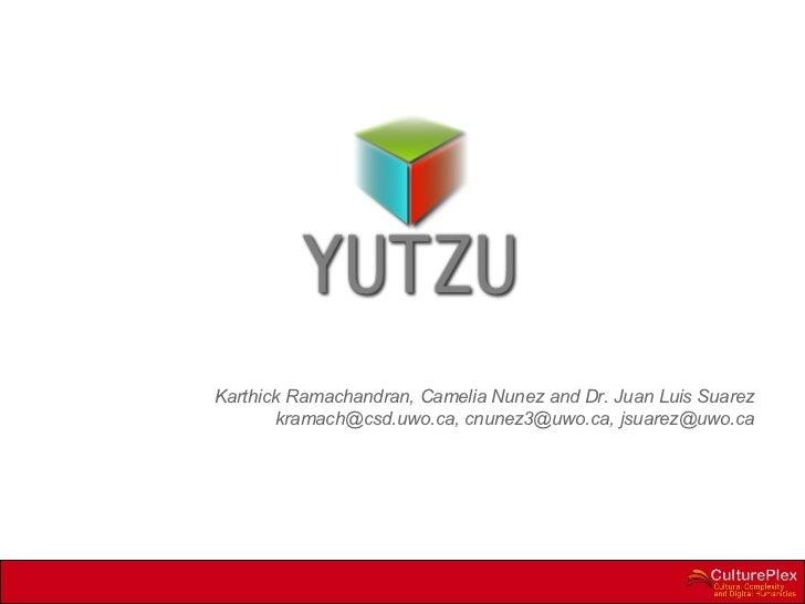 Yutzu thatcamp