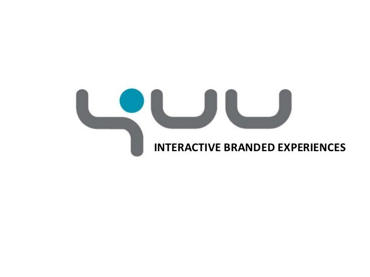 INTERACTIVE BRANDED EXPERIENCES