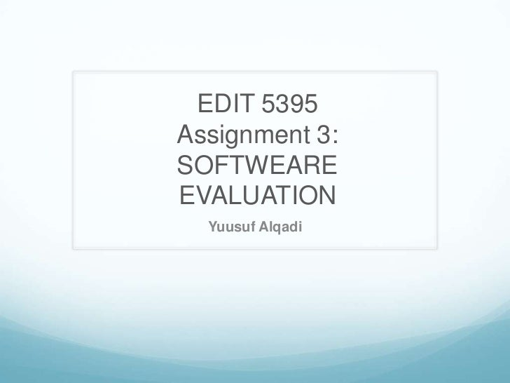 Yuusuf alqadi assignment 3