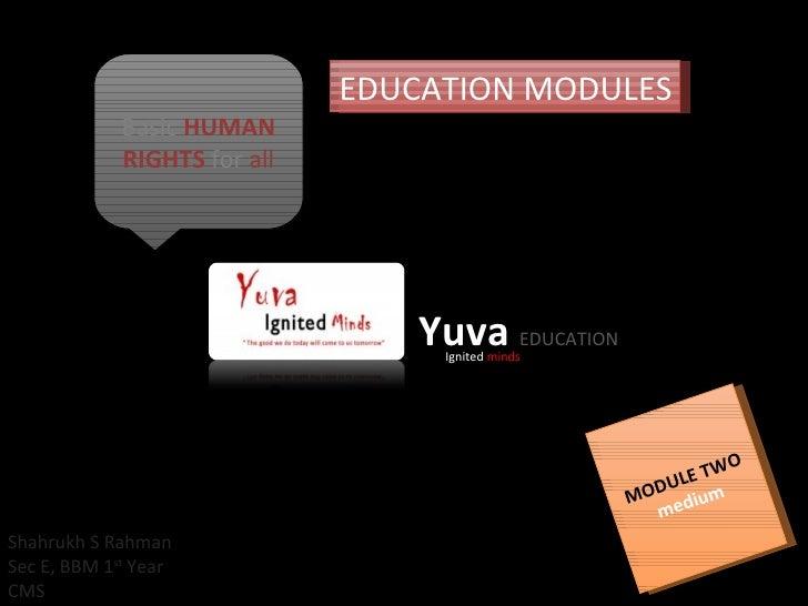 Yuva Education Module Easy