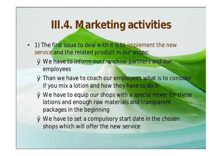 Sample business plan health care product