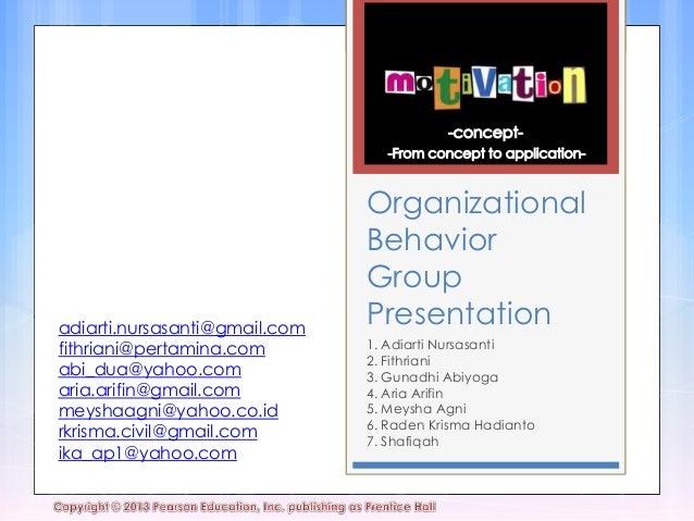 Chapter Motivation Presentation PPM OB EM10B